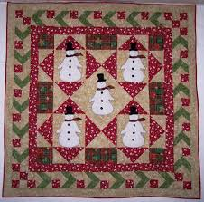 408 best Christmas quilts images on Pinterest | Bag, Crafts and ... & Cute snowman quilt- l love the border Adamdwight.com