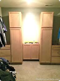18 inch closet door inch closet door storage in the closet made from kitchen cabinets 18 18 inch closet door