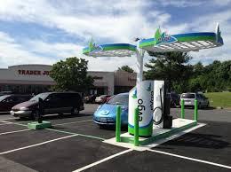 Electric Vehicle Charging Station Inhabitat Green Design