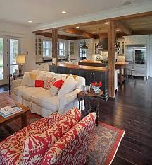 Fine Open Kitchen Living Room Floor Plan Concept Kitchenliving Design Ideas Style Motivation On Impressive