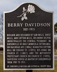 Gibsonville celebrates birthday, honors millwright Berry Davidson ...