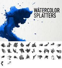 <b>Watercolor</b> Splatters by pstutorialsws on DeviantArt