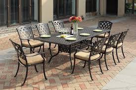 darlee ocean view 9pc patio dining set