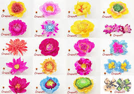 Find & download free graphic resources for peony. 20 Crepe Paper Flower Templates Graphic By Lasquare Info Creative Fabrica