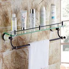 bathroom storage wall shelf oil rubbed
