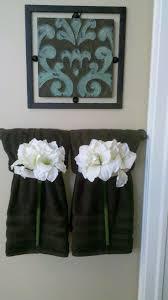 Decorative Bathroom Towels Sets 17 Best Ideas About Bathroom Towels On Pinterest Diy Bathroom