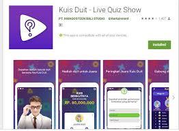 Dan anda bisa dapat hadiah puluhan jutaan rupiah dari kegiatan tersebut. 5 Aplikasi Live Kuis Ini Bikin Kamu Tambah Pintar Dan Tambah Kaya