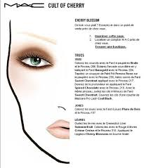 Mystical Make Up And Beauty Face Charts Mac Cosmetics