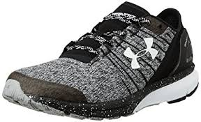 under armour shoes. under armour men\u0027s ua charged bandit 2 black and white running shoes - 10 uk/ e