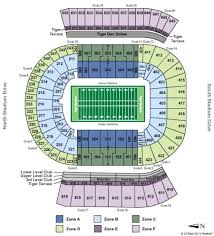 Lsu Football Ticket Seating Chart Tiger Stadium Tickets And Tiger Stadium Seating Chart Buy