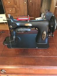 White Rotary Sewing Machine