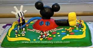 Coolest Mickey Mouse Clubhouse 1st Birthday Cake