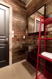bathroom reclaimed wood walls