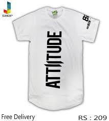 Attitude Design Attitude Design White Tshirt