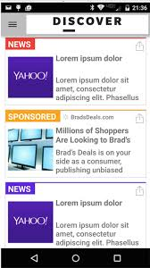 ad sample android ad publishing yahoo developer network