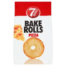 7 Days Bake Rolls Pizza 80g Tesco Groceries