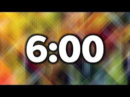 6 Minute Timer Youtube Weekend 10 Commandments Pinterest