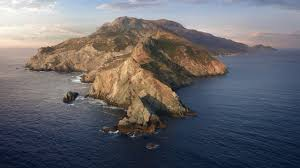 macOS Catalina, Mountains, Island ...