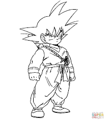 Dragon Ball Z Coloring Pages Kid Buu Buu Coloring Page Super