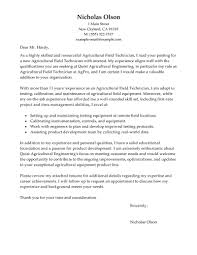 Gallery Of Field Technician Cover Letter Example Tech Cover Letter