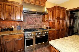 Faux Exposed Brick Apartments Remarkable Exposed Brick Wall Kitchen Backsplash