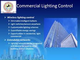 slide 10 commercial lighting control wireless lighting control dimmable intelligent ballasts light switches