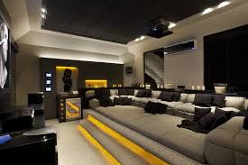 Small Picture projeto interiores home theater Decorations and Creativity