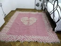 pink and white rug photo 4 of 5 girl rug 5 pink girl room rug handwoven