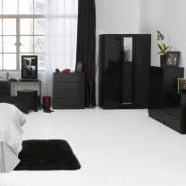 bedroom furniture black and white. Orient Black High Gloss Bedroom Furniture. Furniture And White N