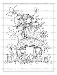 Small Picture 18 best Molly Harrison Coloring Pages Digi Stamps images on