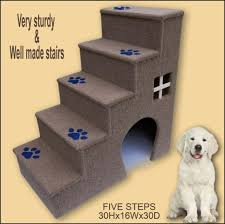 doggy stairs pet furniture dogs furniture 30 inches tall wooden dog steps