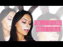 pink glitter bunny makeup beauty s big sister