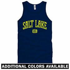 Details About Salt Lake City 801 Tank Top Slc Jazz Sundance Utah Bees Men Women Xs 2xl