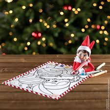Today elf on the shelf had a riddle for us as he was hanging out in matthew's stocking. By The Numbers Coloring Fun The Elf On The Shelf
