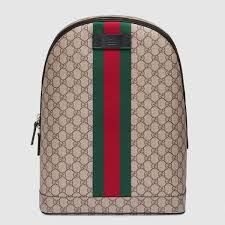 gucci backpack. gg supreme backpack with web gucci o