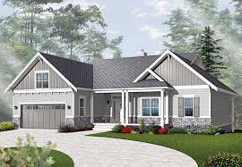 mission style bungalow house plans floor