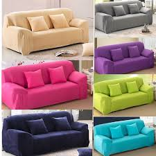 Image Leather Couches Pinterest Pure Color Removable Elastic Sofa Slipcover Lounge Couch