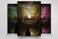 revival flyers templates church revival flyer template flyerheroes 1 catolico church print