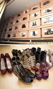 organize shoes with photos 20 diy closet organization ideas for the home diy closet