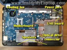 how to disassemble hp pavilion g6 inside my laptop in