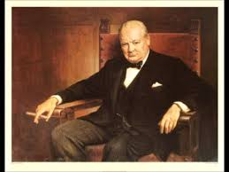 winston churchill address to harrow school