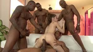 Riley Reid gangbanged by BBCs HD porn video PornHD