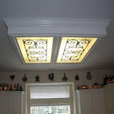 Fluorescent Light Fixtures Kitchen Fluorescent Light Fixture Covers Modern Lighting The Benefits