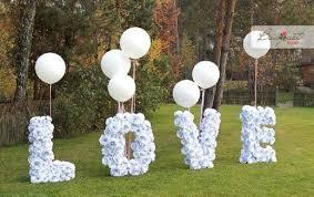 diy garden wedding decoration diy