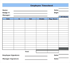 9 Free Template Excel Jewellers Log Time Sheet Weekly Sample In Sign Up
