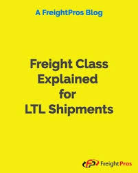 Freight Class Explained A Guide To Understanding Ltl