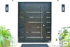 modern glass exterior doors modern single door