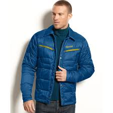 Lyst - Marmot Turner Quilted Down Puffer in Blue for Men & Gallery Adamdwight.com