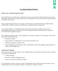 Daily Incident Report Template How To Write A Activity U2013 Sharkk