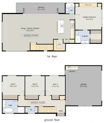 4 bedroom 3 bathroom house plans australia arts 2 story uk 4068 9 u shaped splendid
